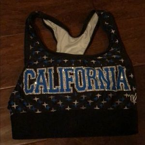 California Allstars Sports Bra